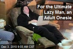 Wisconsin Men Develop Ultimate Lazy Man's Outfit