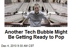 Another Tech Bubble Might Be Getting Ready to Pop