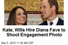 Kate, Wills Hire Diana Fave to Shoot Engagement Photo