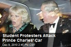 Student Protesters Attack Prince Charles' Car