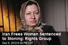 Iran Frees Woman Sentenced to Stoning: Rights Group