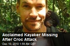 Kayaker MIssing After Croc Attack