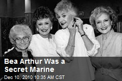 Bea Arthur Was a Secret Marine