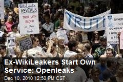 Ex-WikiLeakers Start Own Service: Openleaks