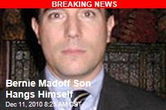 Bernie Madoff Son Dead in Apparent Suicide