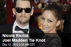 Nicole Richie, Joel Madden Tie Knot
