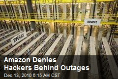 Amazon Denies Hackers Behind Outages