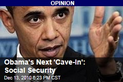 Obama's Next 'Cave-In': Social Security