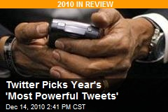 Twitter Picks Year's 'Most Powerful Tweets'