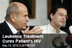 Leukemia Treatment Cures Patient's HIV