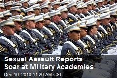 Sexual Assault Reports Soar at Military Academies