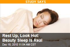 Study: Beauty Sleep Is Real