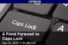 A Fond Farewell to Caps Lock