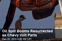 Oil Spill Booms Resurrected as Chevy Volt Parts