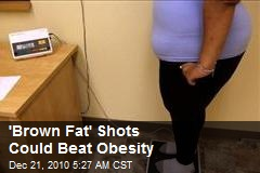 'Brown Fat' Shots Could Beat Obesity