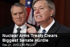 Nuclear Arms Treaty Clears Biggest Senate Hurdle