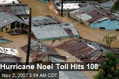 Hurricane Noel Toll Hits 108