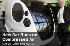 New Car Runs on Compressed Air