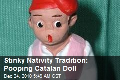 Stinky Nativity Tradition: Pooping Catalan Doll