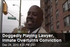 Doggedly Playing Lawyer, Inmate Overturns Conviction