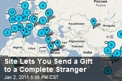 Site Lets You Send a Gift to a Complete Stranger
