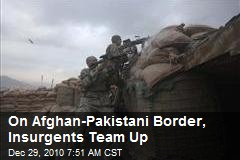 On Afghan-Pakistani Border, Insurgents Team Up