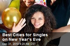 Best Cities for Singles on New Year's Eve