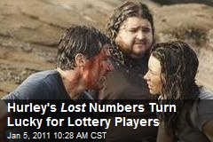 Hurley's Lost Numbers Turn Lucky for Lottery Players