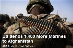 US Sends 1,400 More Marines to Afghanistan