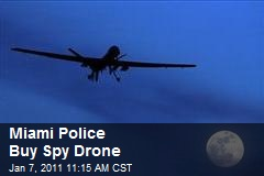 Miami Police Buy Spy Drone