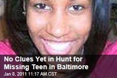 No Clues Yet in Hunt for Missing Teen in Baltimore