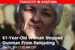 61-Year-Old Woman Stopped Gunman From Reloading