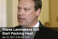 These Lawmakers Will Start Packing Heat