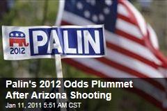 Palin's 2012 Odds Plummet After Ariz. Shooting