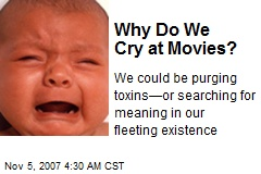 Why Do We Cry at Movies?