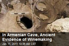 In Armenian Cave, Ancient Evidence of Winemaking