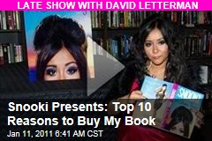 Snooki Presents: Top 10 Reasons to Buy My Book