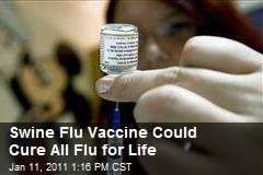 Swine Flu Vaccine Could Cure All Flu for Life