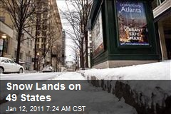Snow Lands on 49 States