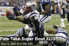 Pats Take Super Bowl XLIS