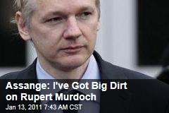 Julian Assange Threatens to Release Files on Rupert Murdoch