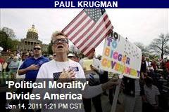 'Political Morality' Divides America