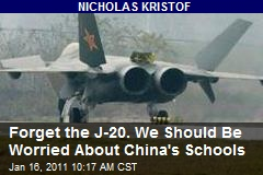 Forget the J-20. We Should Be Worried About China's Schools
