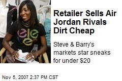 Retailer Sells Air Jordan Rivals Dirt Cheap