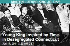 Young King Inspired by Time in Desegregated Connecticut