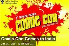 Comic-Con Comes to India