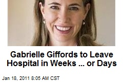 Gabrielle Giffords to Leave Hospital in Weeks ... or Days