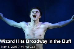 Wizard Hits Broadway in the Buff