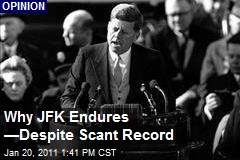 Why JFK Endures, —Despite Scant Record