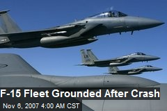 F-15 Fleet Grounded After Crash